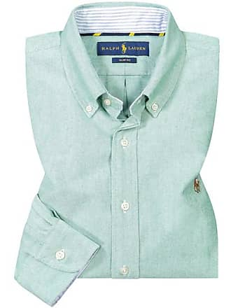 Polo Ralph Lauren Casualhemd Slim Fit (Grün) - Herren (L XL  c815cfab16