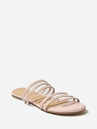 Forever 21 Forever 21 Faux Leather Strappy Sandals Blush