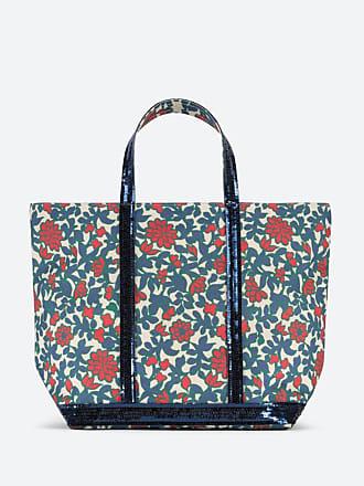 64e431a50b Vanessa Bruno Cabas Moyen + toile et paillettes imprimé floral