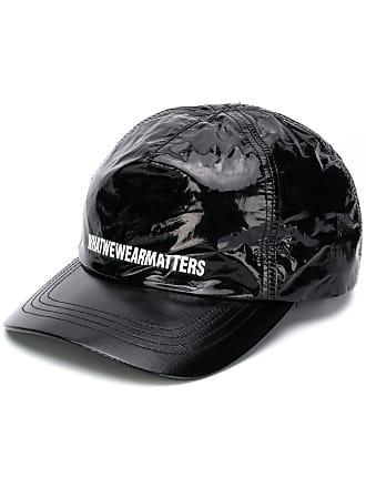 WWWM - What We Wear Matters Boné com estampa de logo - Preto