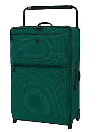 IT Luggage IT Luggage 32.7 Worlds Lightest Los Angeles 2 Wheel, Alpine Green