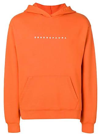 Paura logo hoodie - Laranja
