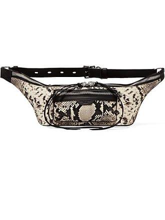 0c95ab23136a Rag   Bone Elliot Small Snake-effect Leather Belt Bag - Black