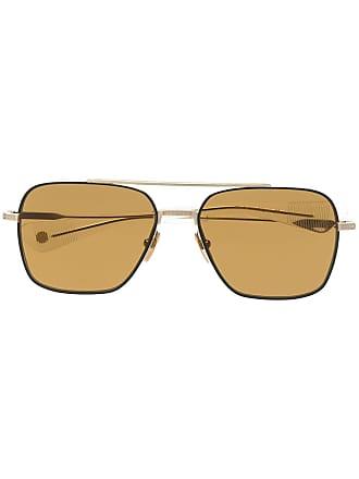 Dita Eyewear Armação de óculos Flight Seven - Dourado