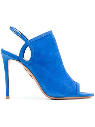 Aquazzura Sandália de couro - Azul