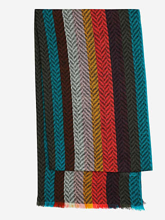 09cab805acd8 Paul Smith Echarpe en laine dagneau Multicolore Paul Smith