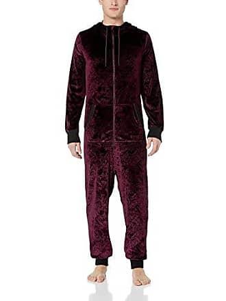 2(x)ist Mens Hooded Zip Up Flight Suit Pants, Mountains Vineyard Wine Embossed, Small