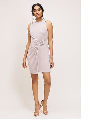 Dynamite Ariel Side Twist Dress Ashes of Roses Gray