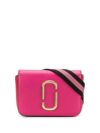 Marc Jacobs stripe detail belt bag - Rosa