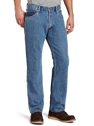 Levi's Mens Big and Tall 505 Big & Tall Regular Fit Jean, Medium Stonewash, 42x34