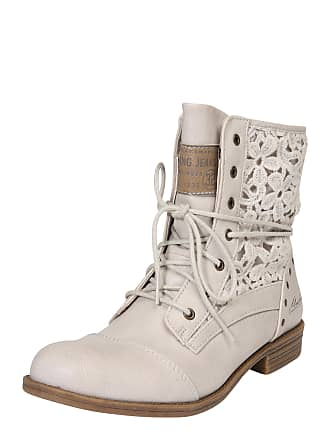 Stiefeletten in Weiß  Shoppe jetzt bis zu −69%   Stylight 45a217d618