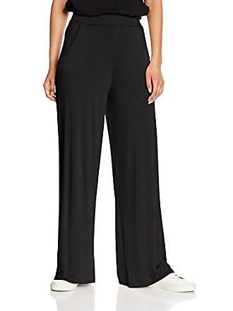 c05e153a41a1f Boohoo Matilda Pocket Side Wide, Pantalon Femme, Noir (Black), W26