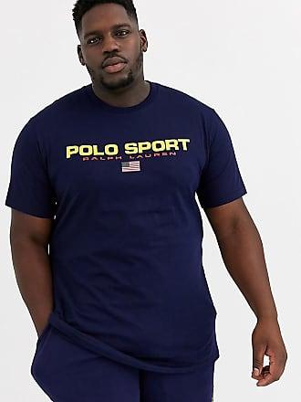 Tommy Hilfiger Big & Tall T shirt avec gros logo Bleu marine