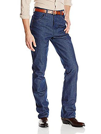 Wrangler Mens Western Regular Bootcut Jean, Navy, 35x34