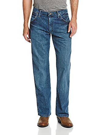 7591c9dd Wrangler Mens Silver Edition Bootcut Jean, Natural Vintage, 38x34