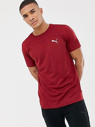 3b29d3f71d5c Puma Running Mono T-Shirt In Burgundy 517242-08