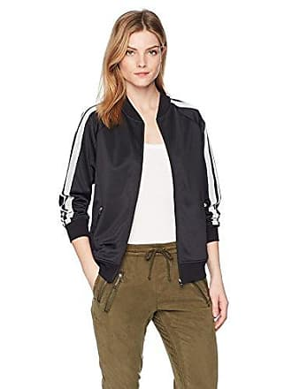2(x)ist Womens Retro Track Jacket Outerwear, Black, Small