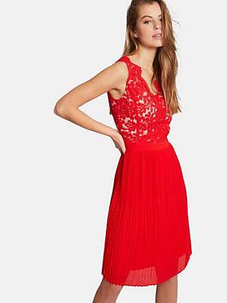 Rotes kleid langarm kurz
