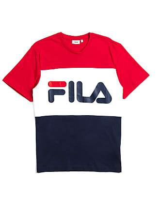 dbabb51e9d78 Fila Fila Day Tee Colorblock Red White Blue