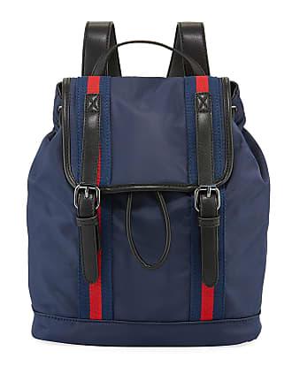 Neiman Marcus Chloe Medium Flap-Top Nylon Backpack