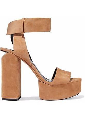 a6dacaf41a00 Alexander Wang Alexander Wang Woman Keke Suede Platform Sandals Sand Size 39