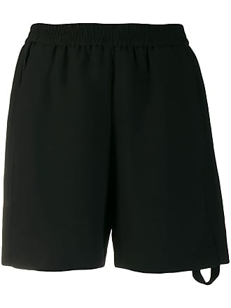 8pm striped pocket shorts - Black