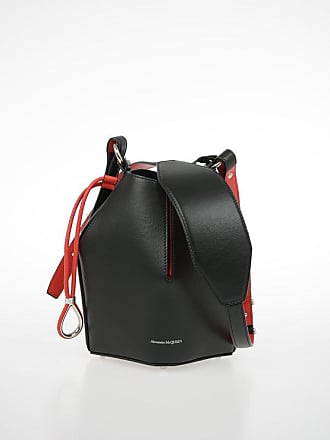 Alexander McQueen Leather bucket bag Größe Unica