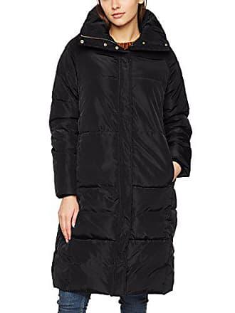 735f3b237fb6c Vero Moda Vmdiva Long Jacket Manteau, Noir Black Beauty, 36 (Taille  Fabricant: