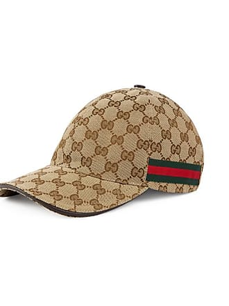 8fcdaa5a5ea Gucci Original GG canvas baseball hat with Web