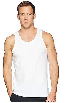 88cddfb42bb7 Champion Classic Jersey Ringer Tank Top (White) Mens Sleeveless