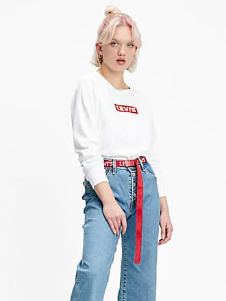 Levi's Relaxed Graphic Crewneck - White