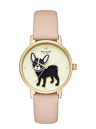 249a5a7d07c Kate Spade New York Metro Grand Antoine Vachetta Leather Watch