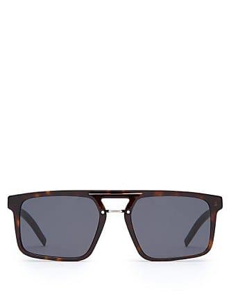 18d429ea45 Lunettes Dior Black Tie Tortoiseshell Acetate Sunglasses - Mens -  Tortoiseshell