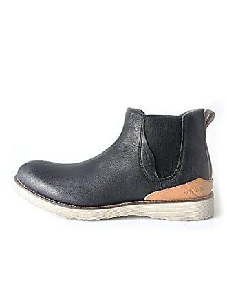 fb63ced814cf99 New Zealand Auckland Herrenschuh Chelsea Boots Echtleder schwarz Größe 41