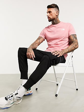 The North Face Simple Dome - T-Shirt in Hellrosa