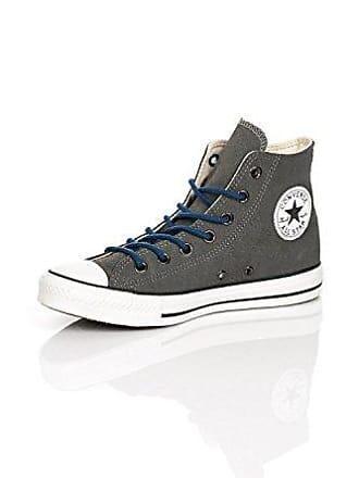 3ff9704ec12991 Converse Damen Schuhe All Star Hi Suede Grau 132119C Chucks Sneakers Leder  Dunkelgrau Größe 36