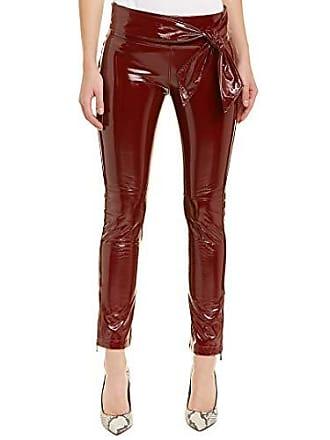 9cac4960c4bb7 David Lerner Womens Waist TIE Legging W/Ankle Zip, Merlot, Medium
