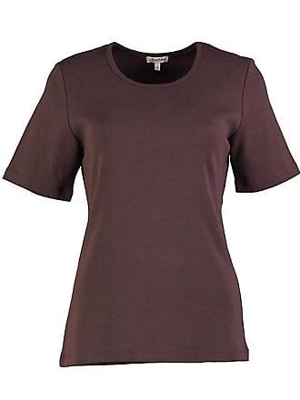 1cf8c739ca3db7 Deerberg Damen Jersey-T-Shirt Feli zartbitter - auch in Übergrößen