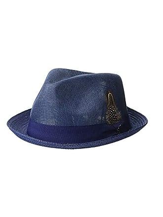 7e0f4bcf99fd56 Men's Blue Fedora Hats: Browse 8 Brands | Stylight