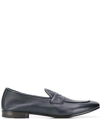 Henderson Baracco pointed toe loafers - Azul