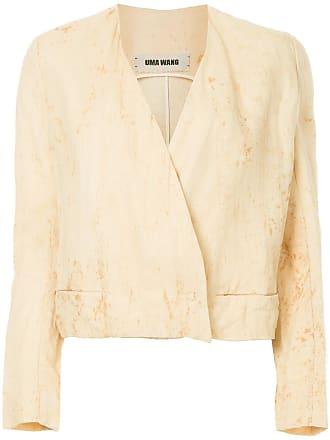 Uma Wang v-neck jacket - Brown