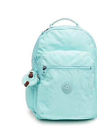 Kipling Womens Seoul Go Small, Padded, Adjustable Backpack Straps, Zip Closure, Fresh Teal Tonal