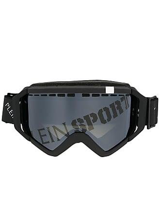 Plein Sport Óculos de sol com estampa de logo - Preto