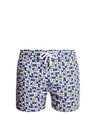 8bd725bca7 Frescobol Carioca Sports Cerejeira Print Swim Shorts - Mens - Blue Multi