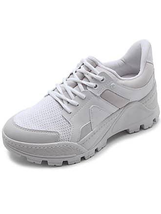 Tanara Tênis Dad Sneaker Chunky Tanara Recortes Branco