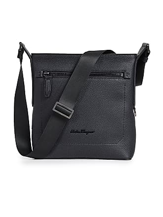 Salvatore Ferragamo Firenze Leather Crossbody Bag - Nero 39061966a6cd2