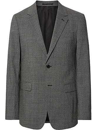 Theory Black Chambers Slim-fit Stretch-wool Suit Jacket - Gray