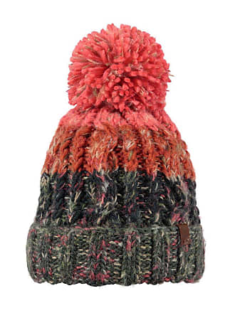 5df69735f36 Barts Hats Sandy Bobble Hat - Red-Charcoal 1-Size