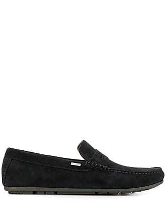 da404c5831dbd0 Tommy Hilfiger smooth texture loafers - Black