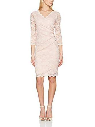 91be1f3675c1 Gina Bacconi Damen Standard-Kleider Stretch Sequin Scallop Lace Knielang